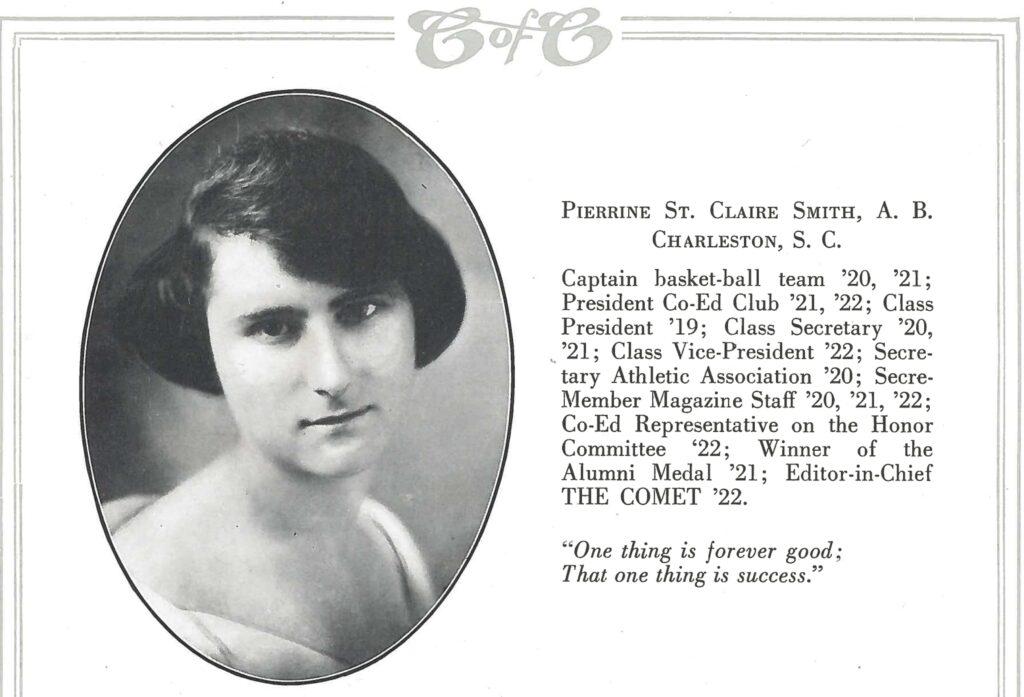 Pierrine-Byrd-Yearbook-Page